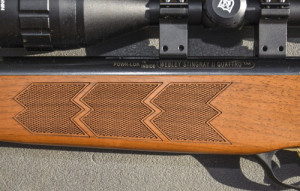 The Stingray oozes style with its walnut stock
