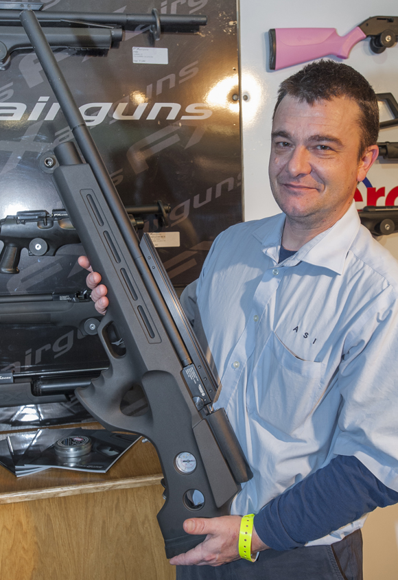FX Airguns' Bobcat - selling well in the UK in .30 calibre guise, where it's capable of up to 85ft/lb!